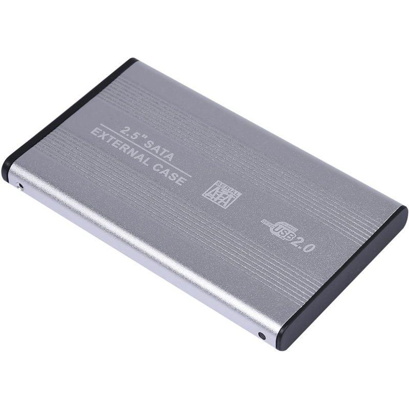 Gabinete Carcasa Xtreme 25EA de Aluminio para Disco Duro 2.5'' USB 2.0 a Sata 1