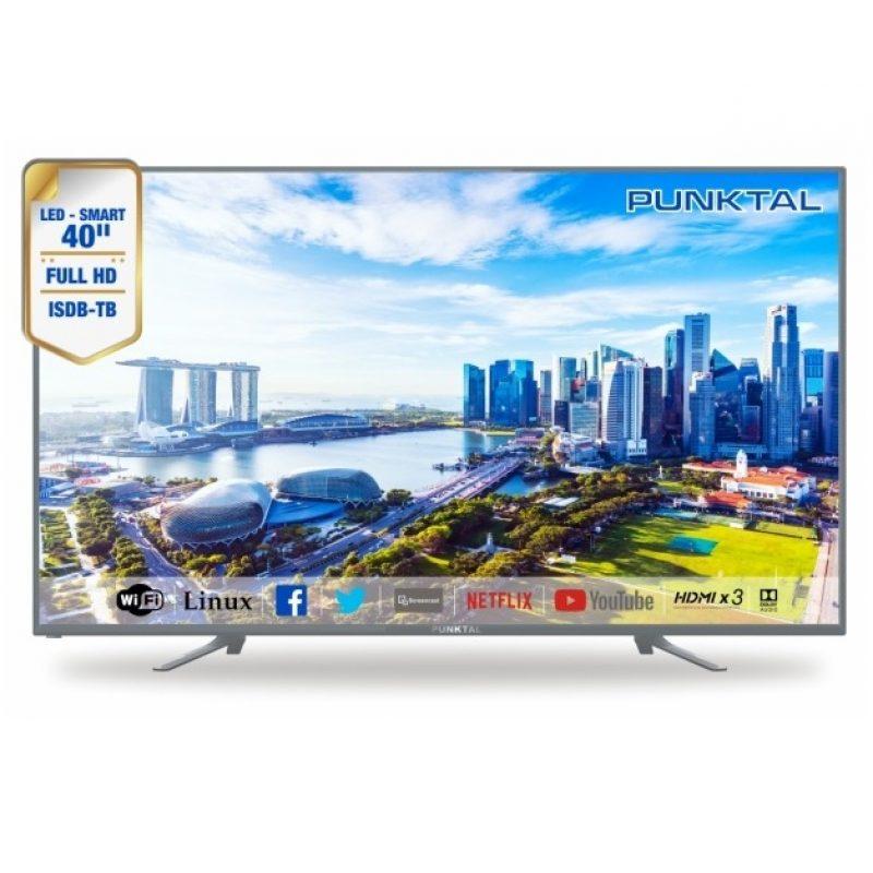 Smart TV LED Punktal PK-40TE 40'' Full HD Quad Core WiFi 2