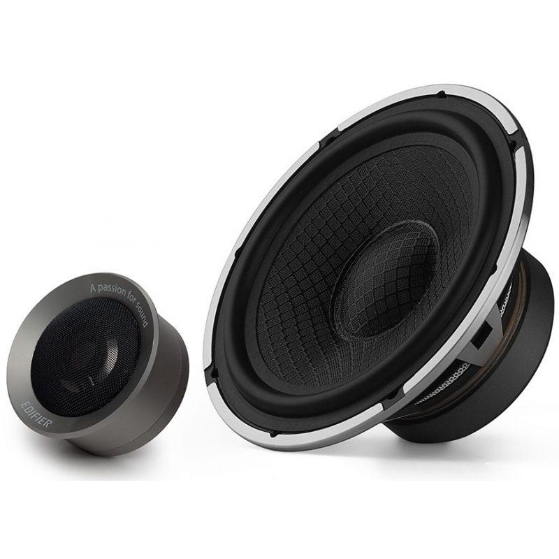 Kit Car Audio Edifier NF651B Pro Parlantes 6.5'' + Tweeter Titanio 1
