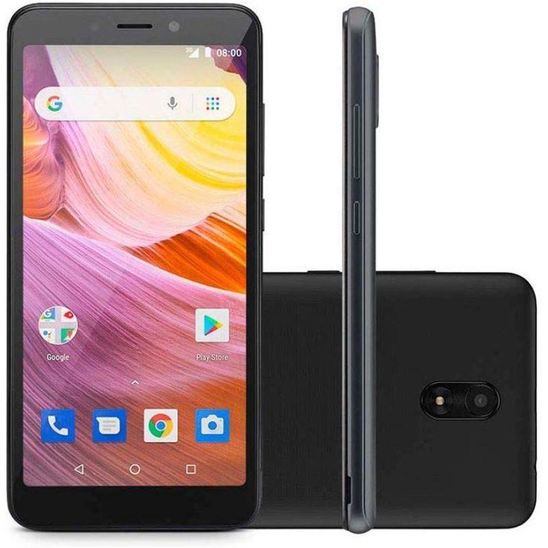 Celular Multilaser MS50G 5;5'' Android Quad Core Doble Cámara 8mp/5mp 8GB - Negro 1