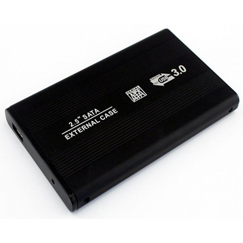 Gabinete Carcasa Xtreme TP-U25S30 de Aluminio para Disco Duro 2.5'' USB 3.0 a Sata (Negro) 2