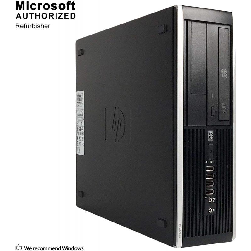 PC Computadora Gamer HP Core i5 8gb 250GB Tarjeta de Video Nvidia GeForce GT710 2GB + Combo Gaming 3
