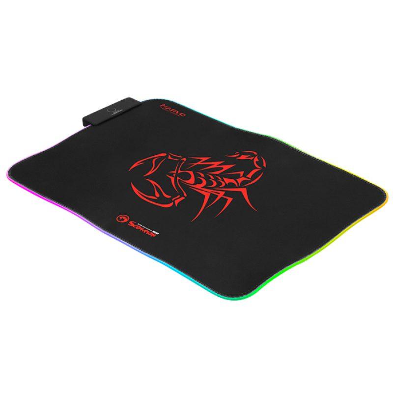 Mouse Pad Gamer Design Marvo Scorpion MG08 con luz RGB 2