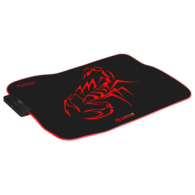 Mouse Pad Gamer Design Marvo Scorpion MG08 con luz RGB 3
