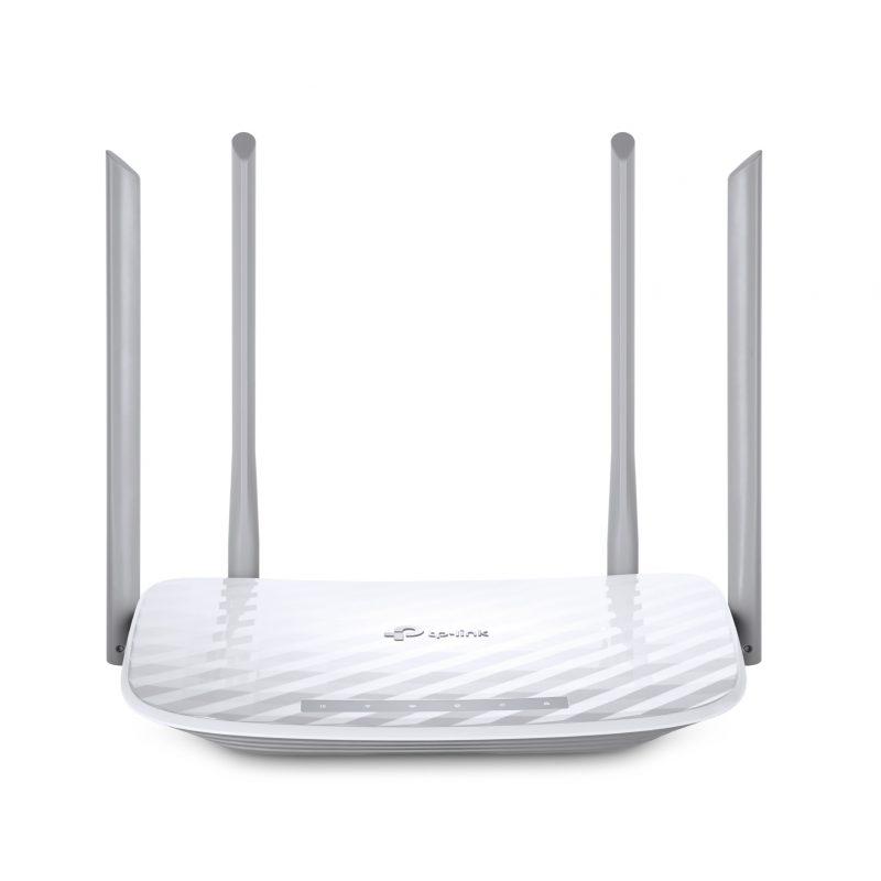 Router TP-Link Wireless ARCHER C50 AC1200 Doble Banda WiFi 4 Antenas 1