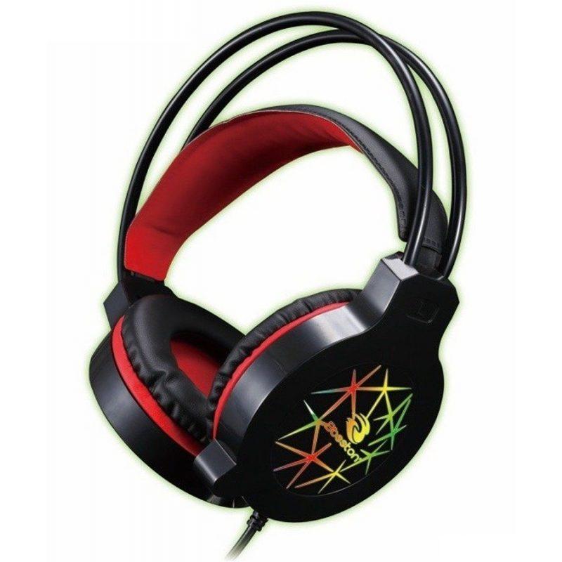 Auricular Vincha Gamer con Micrófono Bosston HS-09 Grandes y Comodos 1