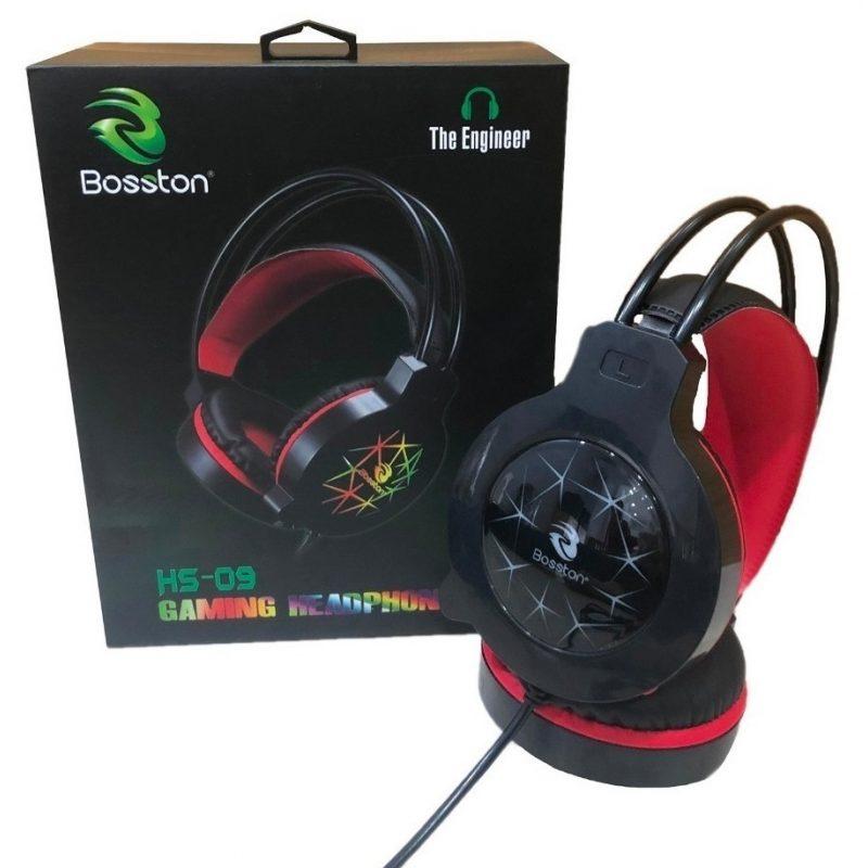 Auricular Vincha Gamer con Micrófono Bosston HS-09 Grandes y Comodos 2