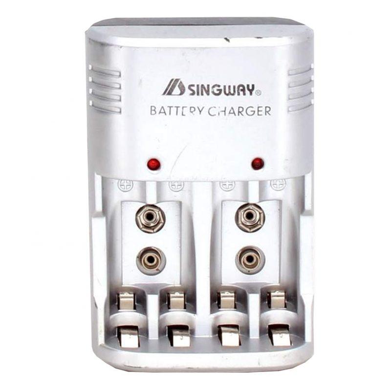 Cargador de Pilas A-612 Para Pila AA y AAA con Indicador LED 2
