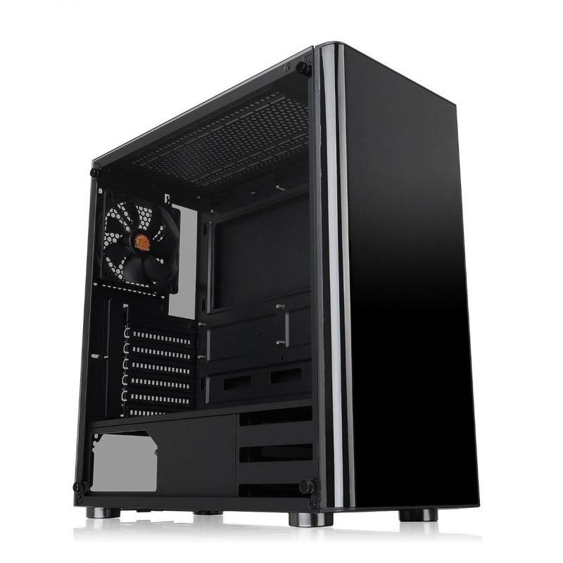 Gabinete Gamer Thermaltake V200TG Lateral Vidrio Templado Mid Tower Fan 12x12 1