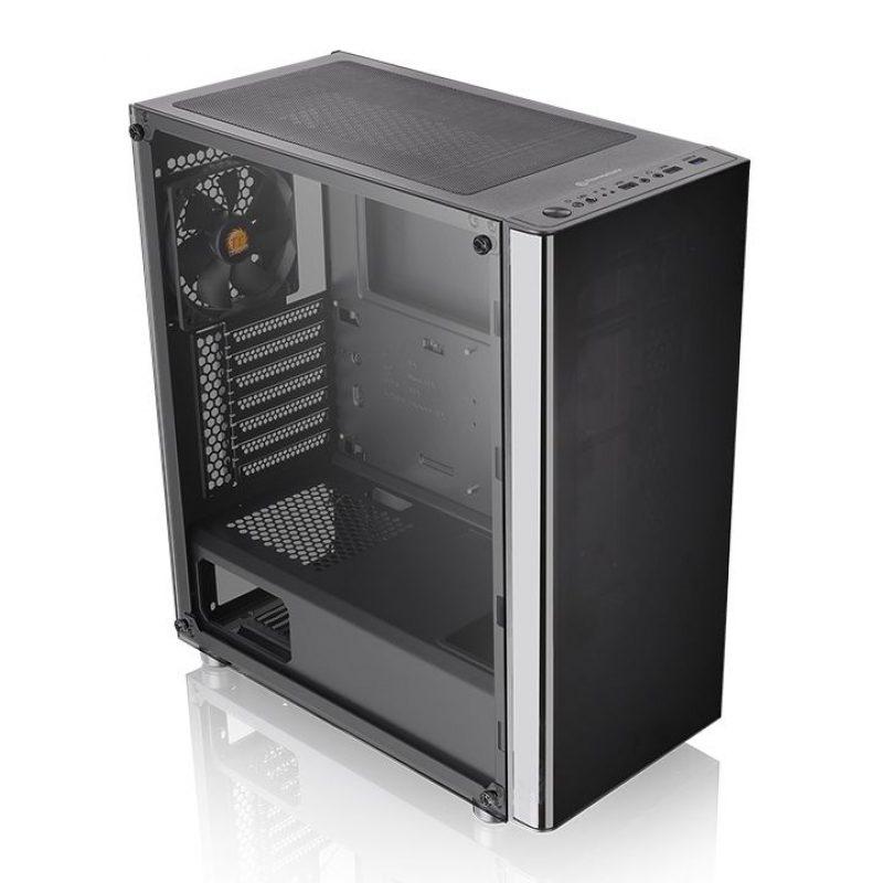 Gabinete Gamer Thermaltake V200TG Lateral Vidrio Templado Mid Tower Fan 12x12 2