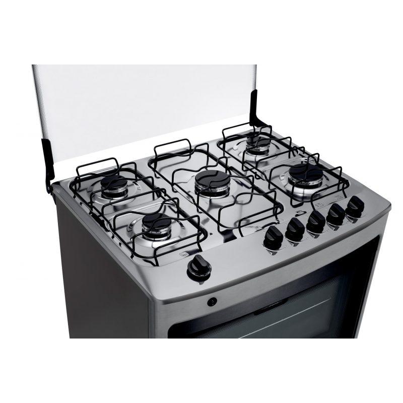Cocina a Gas Consul CFS5NAR 5 Hornallas Acero Inoxidable Doble Vidrio 3