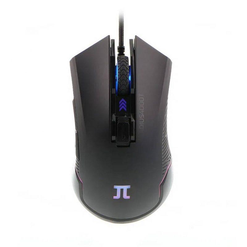 Mouse Gamer Primus Gladius 4000T PMO-101 6 Botones Base Metálica RGB 1