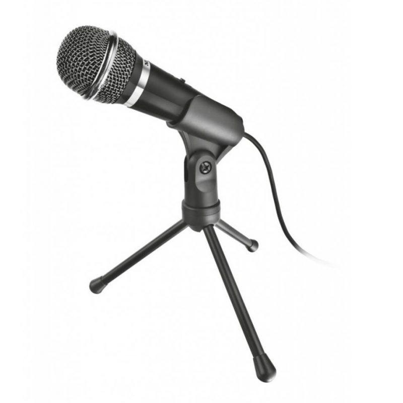 Microfono Trust Starzz Omnidireccional con Tripode Cable 2.5M de 3.5mm 2