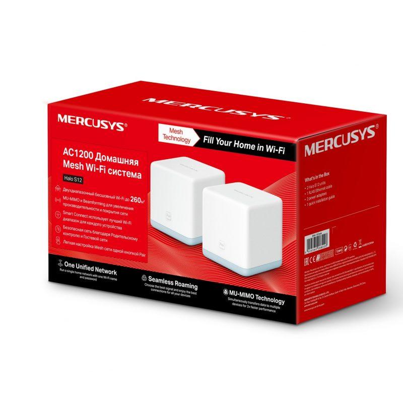 Router / Access Point Mercusys Halo S3 Tecnología Mesh 300 Mbps (Kit 2 Unidades) 4