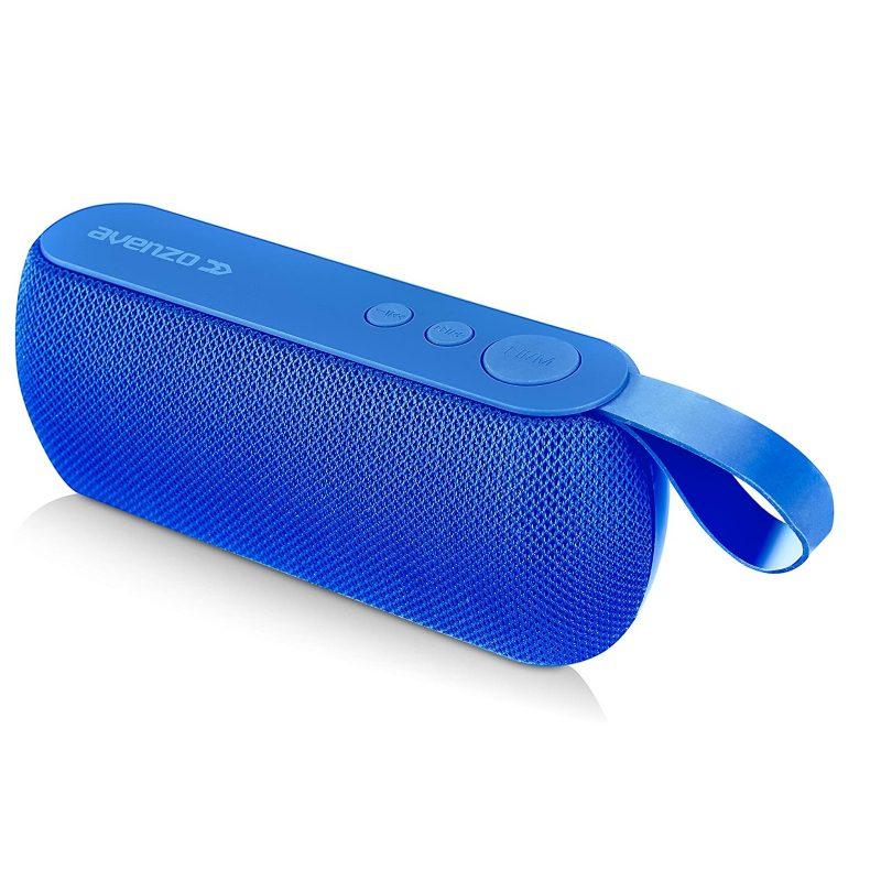 Parlante Portatil Avenzo AV-SP3102L 10W Bluetooth Manos Libres Radio FM microSD USB MP3 - Azul 4