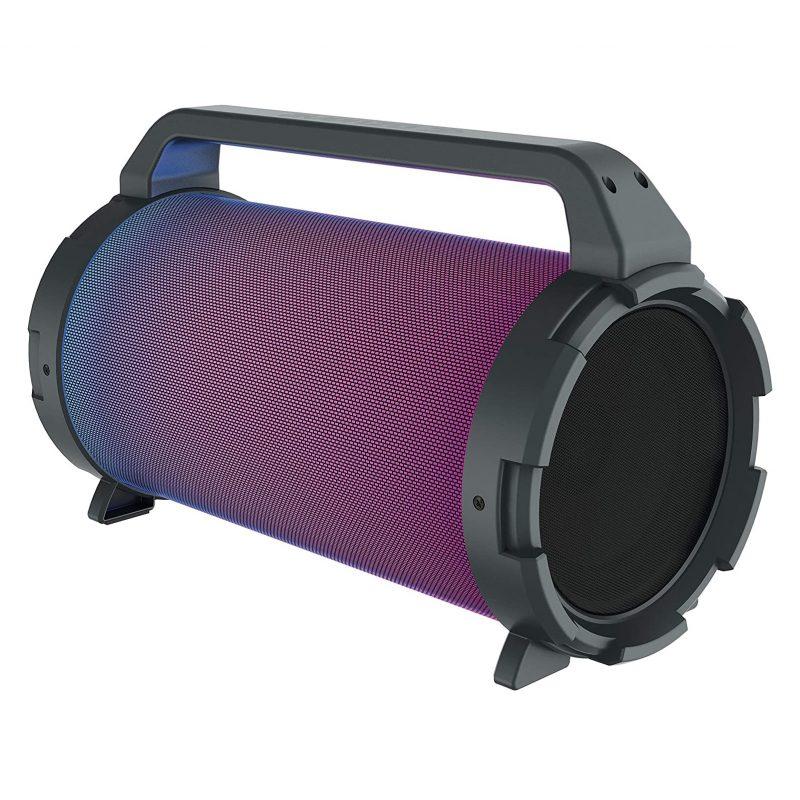Parlante Portatil Avenzo AV-SP3301B Bazooka 18W Bluetooth USB microSD Luces LED y Micrófono incorporado 2