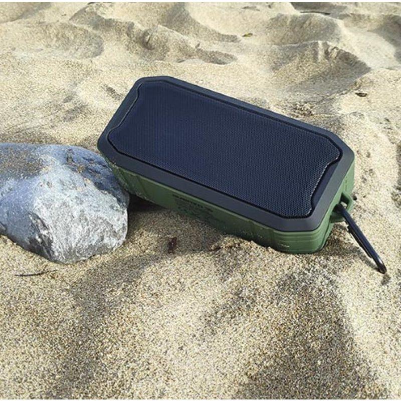 Parlante Portatil Avenzo AV-SP3002BG 5W Bluetooth Manos Libres Radio FM microSD USB MP3 Flotante y Resistente al Agua y Polvo 4