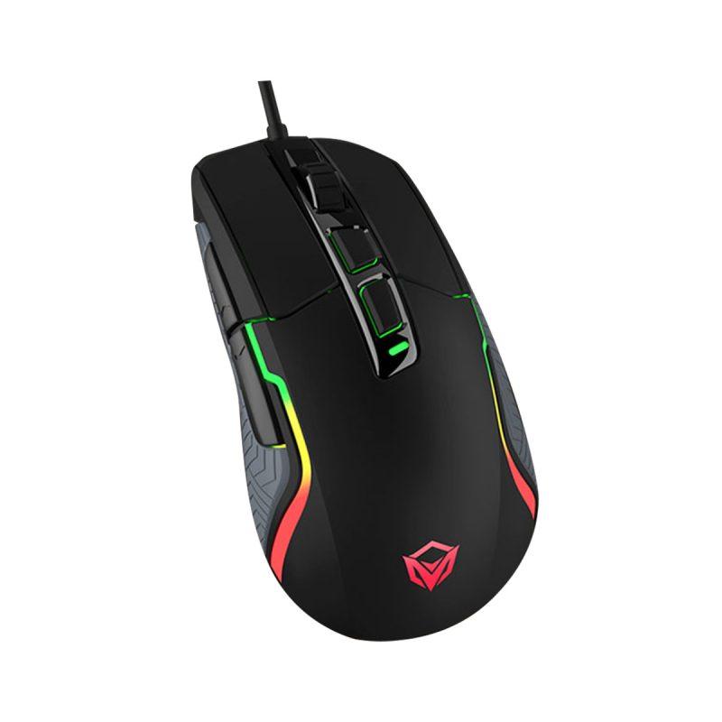 Mouse Retroiluminado Pro Gaming Meetion MT-G3325 RGB Ergonómico Ultra Preciso PC PS4 2