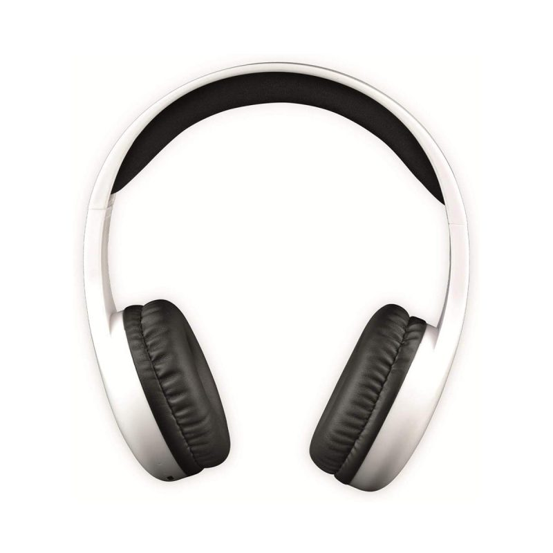 Auriculares Denver BTH-240 Bluetooth Manos Libres Con Micrófono Larga Duración de Bateria - Blanco 2