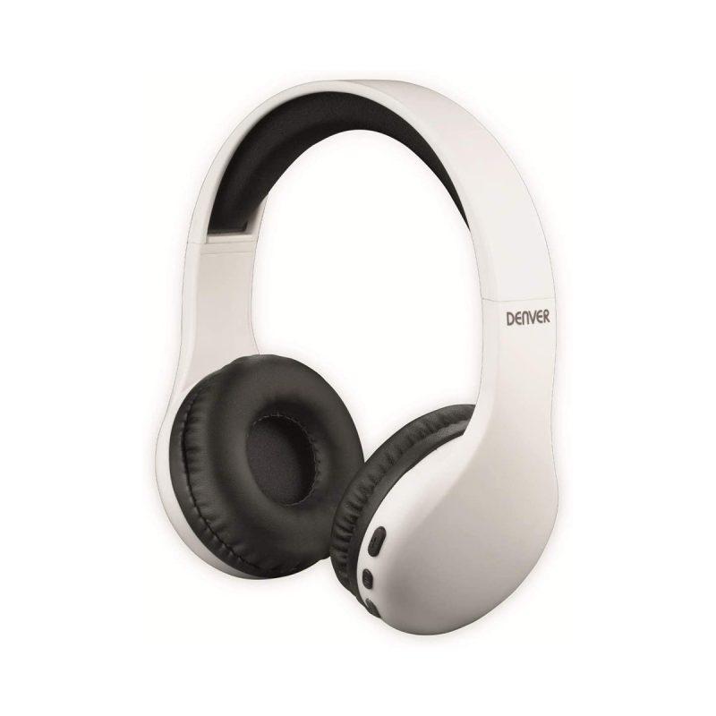 Auriculares Denver BTH-240 Bluetooth Manos Libres Con Micrófono Larga Duración de Bateria - Blanco 3