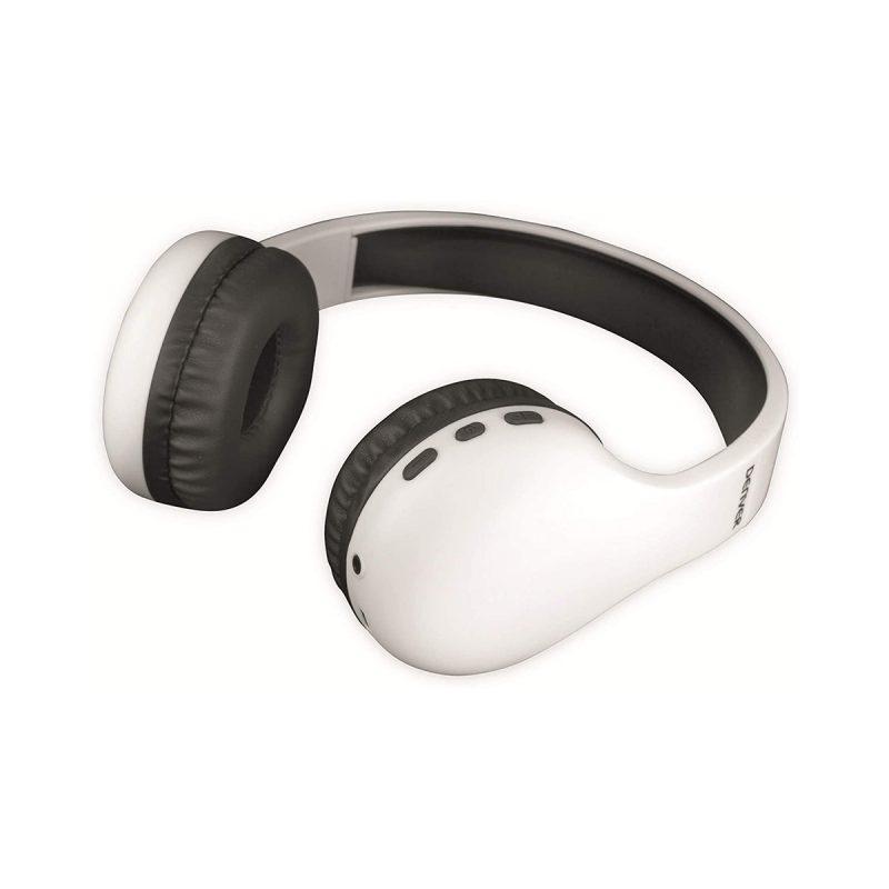 Auriculares Denver BTH-240 Bluetooth Manos Libres Con Micrófono Larga Duración de Bateria - Blanco 4