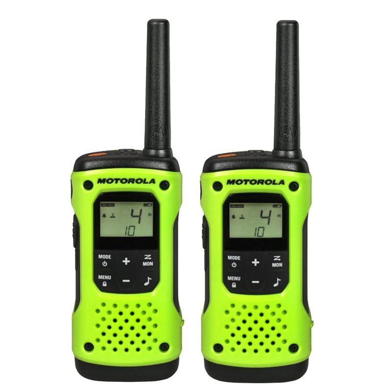 Handy Walkie Talkie Motorola TalkAbout T600 2 Vías 56 Km con Linterna Bateria y Resistente al Agua 1