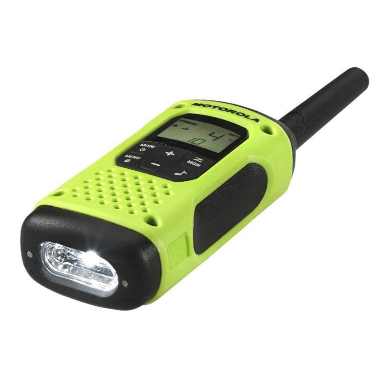 Handy Walkie Talkie Motorola TalkAbout T600 2 Vías 56 Km con Linterna Bateria y Resistente al Agua 3