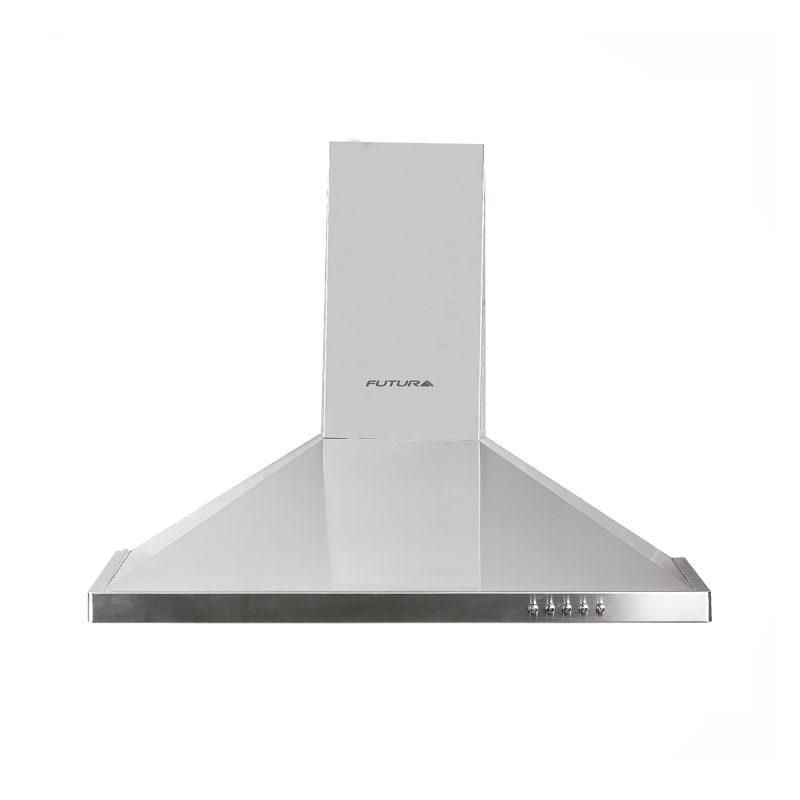 Campana De Pared Piramidal Futura Fut C650PIR Acero Inox 60cm Con Luz Y Filtros - Producto Europeo 1