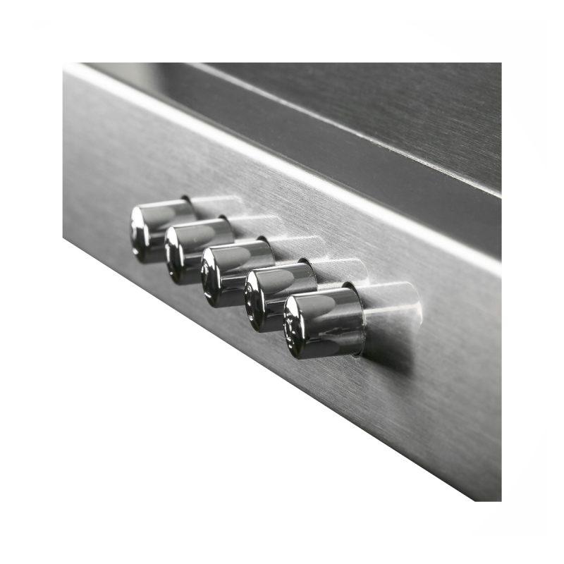 Campana De Pared Piramidal Futura Fut C650PIR Acero Inox 60cm Con Luz Y Filtros - Producto Europeo 3