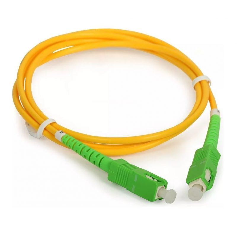 Cable Red Patchcord de Fibra Optica 4 Metros 1