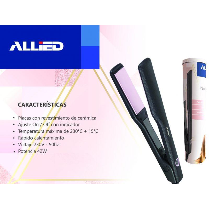 Planchita de Pelo Allied AL-HS1604 Placas con Revestimiento de Cerámica 4