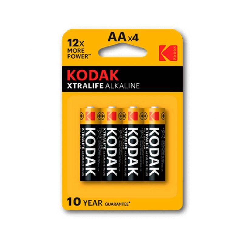 Pilas Alcalinas Kodak Xtralife 1.5V AA Blister X4 Unidades 1