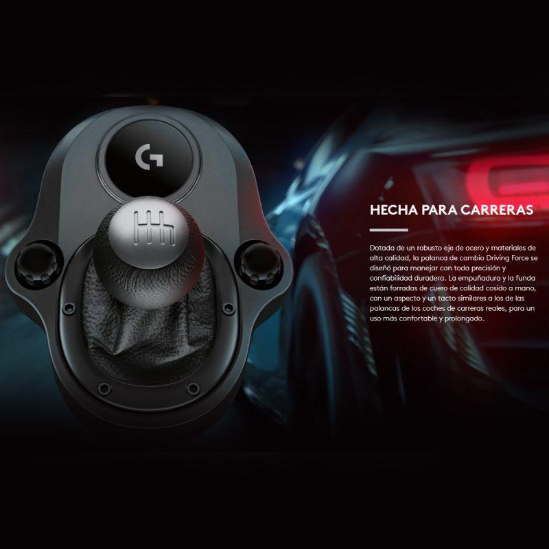 Palanca Volante Logitech 6 Velocidades Gamer Profesional Compatible Con G29 y G290 3