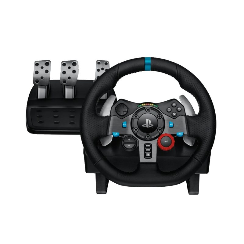 Volante Gamer Profesional Logitech G29 con Pedalera para PC PS3 PS4 y PS5 1