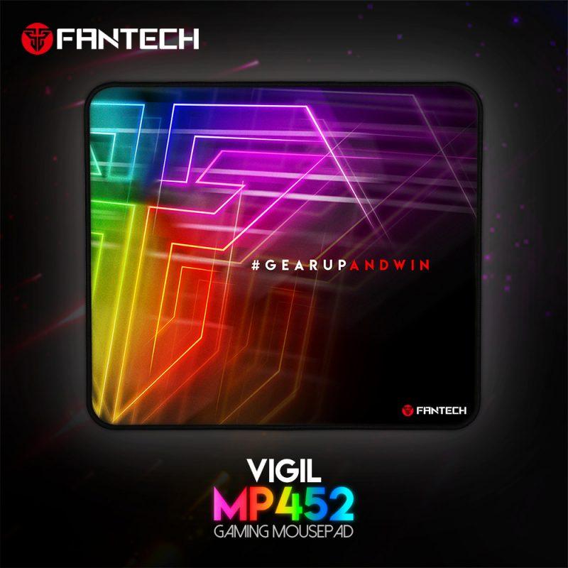 Mouse Pad Gamer Fantech Vigil MP452 45 x 40cm Speed 4