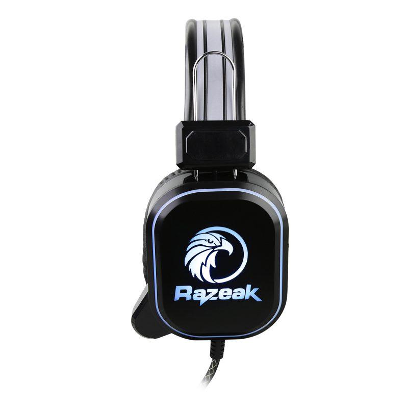 Auricular Gamer Razeak RH-10 2 Jack 3.5mm. con Iluminación LED USB y Micrófono 2