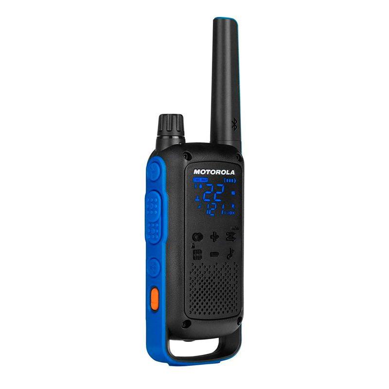 Handy Walkie Talkie Motorola TalkAbout T800 2 Vías 22 Canales 56 Km Bluetooth con Linterna Bateria y Resistente al Agua 2