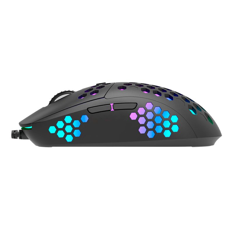 Mouse Gamer Marvo Scorpion G961 RGB Chroma Ergonómico 12.000dpi 6 Botones Estilo Panal 3