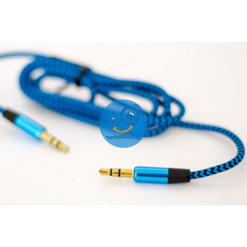 Cable de Audio Auxiliar ROCA 3.5mm a 3.5mm (2 Metros) 2