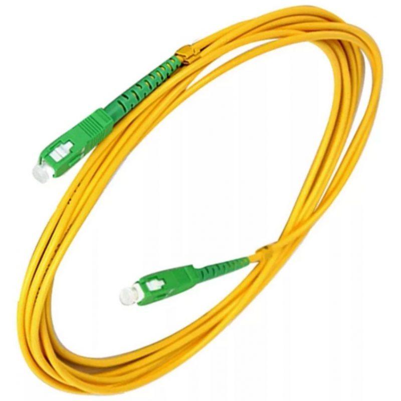 Cable Red Patchcord de Fibra Optica 3 Metros 3