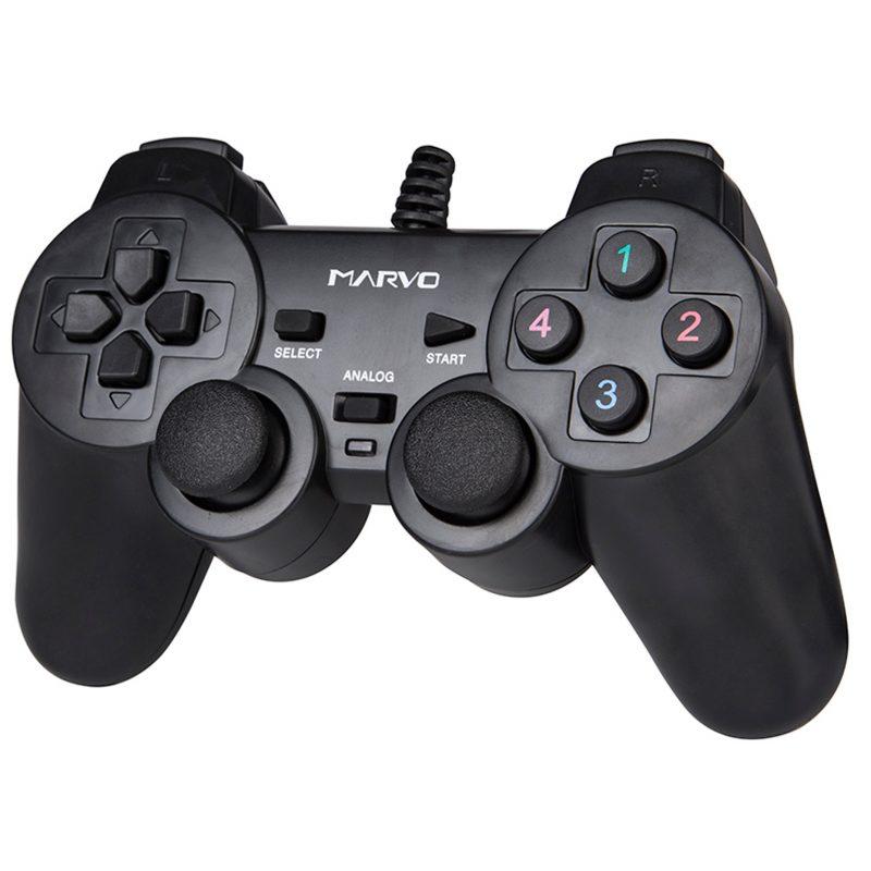 Joystick Gaming Pad Marvo Scorpion GT-006 USB Para PC 1