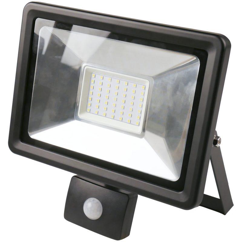 Foco LED 50W Exterior IP65 220v con Sensor Movimiento - Luz Fria 1