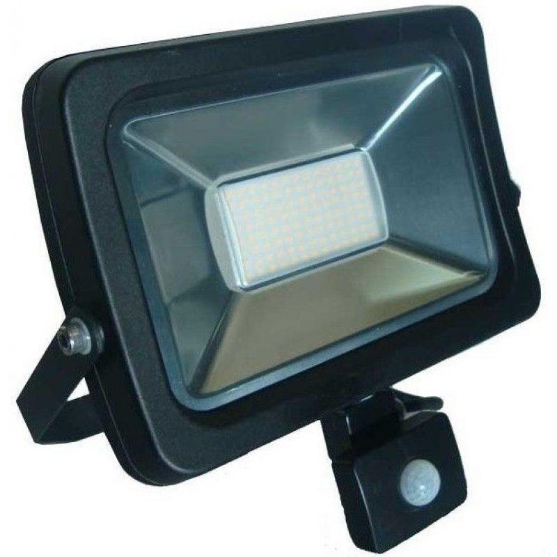 Foco LED 50W Exterior IP65 220v con Sensor Movimiento - Luz Fria 2