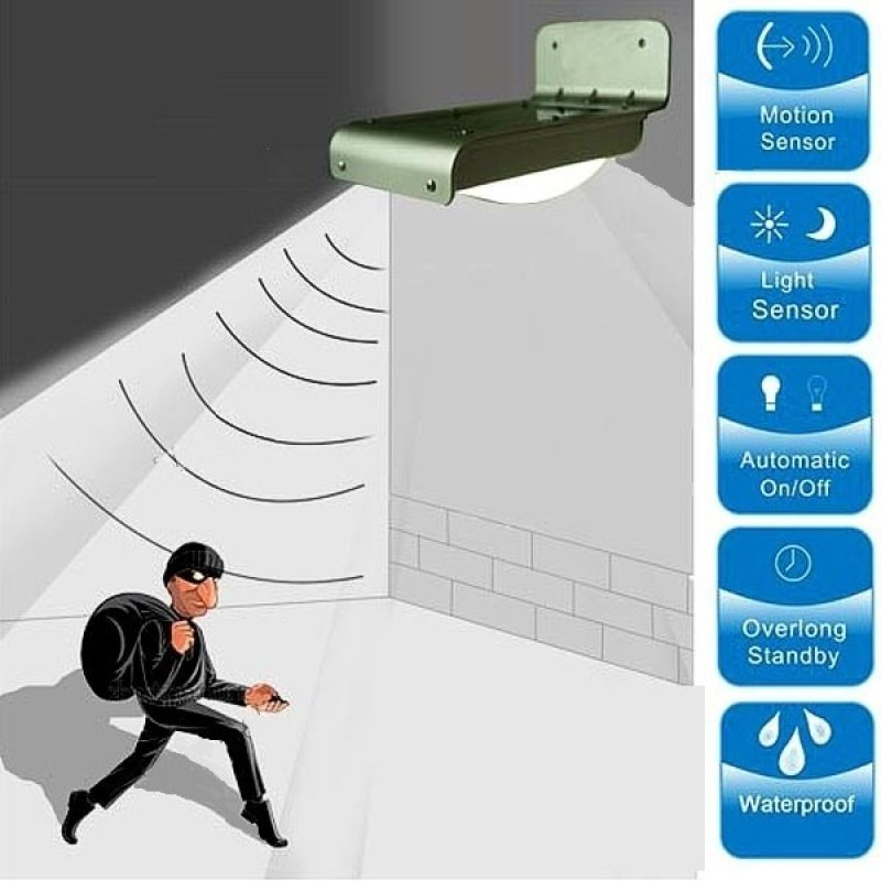 Foco LED 50W Exterior IP65 220v con Sensor Movimiento - Luz Fria 3