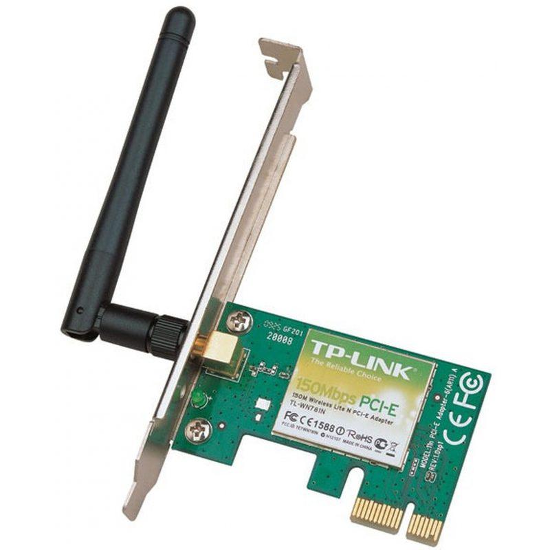 Adaptador Tarjeta PCI Express TP-Link WN781ND WiFi Wireless N 150Mbps 3