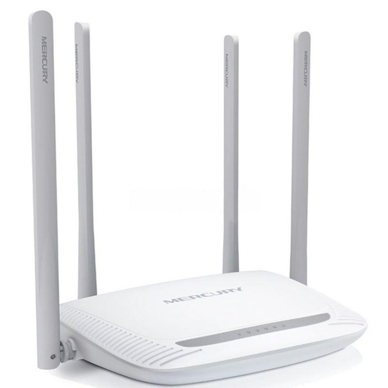 Router inalambrico Mercusys MW325R N de 300Mbps 4 Antenas Extra Alcance 2