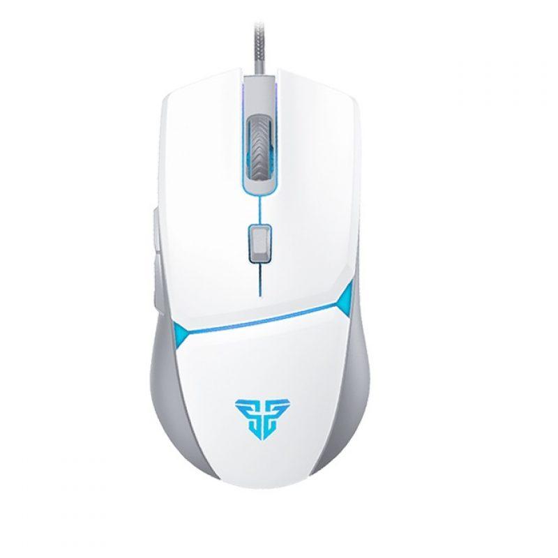 Mouse Gamer Fantech VX7 6 Botones Led 4 Colores - Space Edition (Blanco) 1