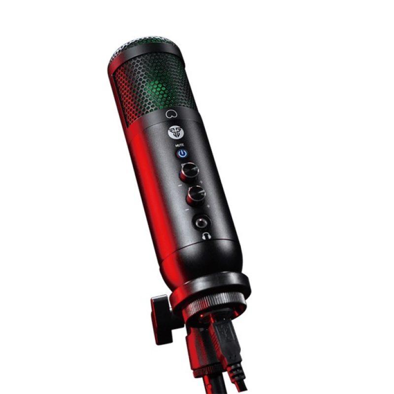 Microfono Condensador Profesional Fantech Leviosa MCX01 USB RGB Streaming 1
