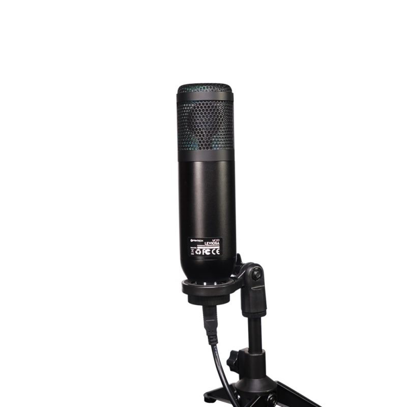 Microfono Condensador Profesional Fantech Leviosa MCX01 USB RGB Streaming 2