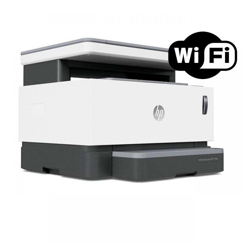 Impresora Multifuncion Laser HP Neverstop 1200nw Toner Monocromatica con WiFi 2
